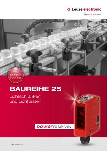 Baureihe 25 - Lichtschranken und Lichttaster