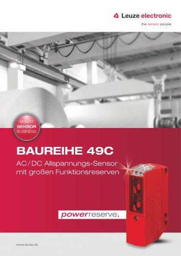 Baureihe 49C - AC / DC Allspannungs-Sensor mit großen Funktionsreserven