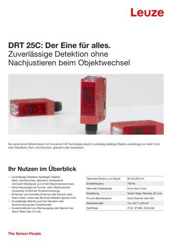 DRT 25C Dynamischer Referenz Taster