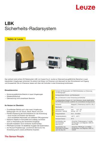 Flyer LBK - Safety Radar System