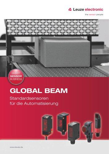 Global Beam - Standardsensoren für die Automatisierung