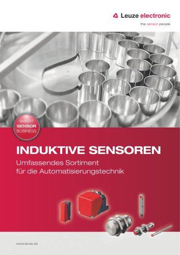 Induktive Sensoren - Umfassendes Sortiment für die Automatisierungstechnik