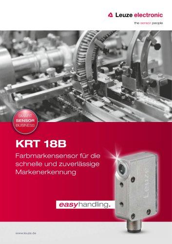KRT 18B – Farbmarkensensor für die schnelle und zuverlässige Markenerkennung