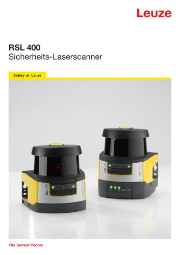 RSL 400 - Sicherheits-Laserscanner mit 2 autarken Schutzfunktionen