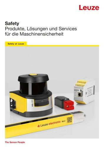 Safety - Produkte, Lösungen und Services für die Maschinensicherheit