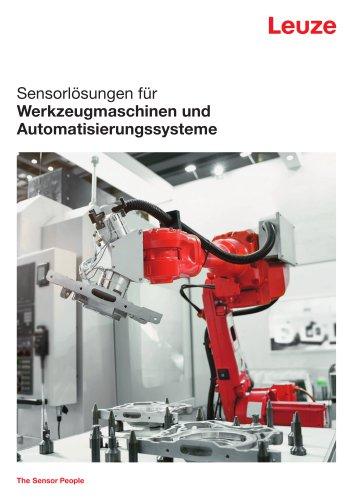 Sensorlösungen für Werkzeugmaschinen