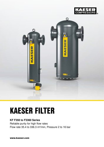 KAESER FILTER compressed air filters