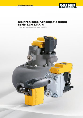 Kondensatableiter Serie ECO DRAIN