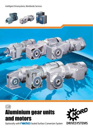 Aluminium Gear Units and Geared Motors - Unit 50