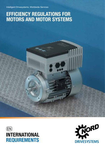 Efficiency Regulations for Motors and Motor Systems (S4700)