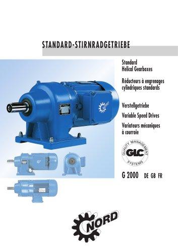Standard-Stirnradgetriebe