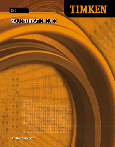 Automotive Aftermarket Seal Specification Guide