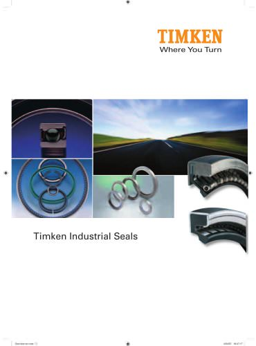 Large Bore Industrial Seal Catalog