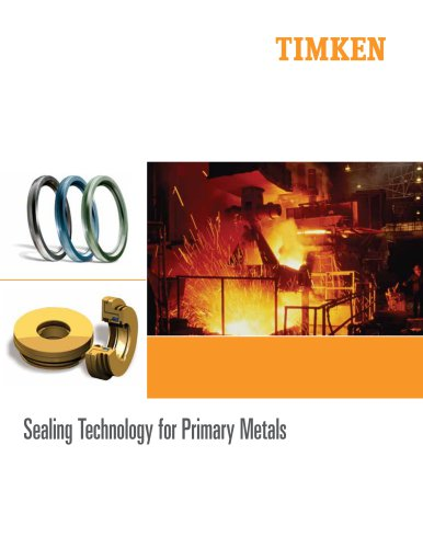 Sealing Technology for Primary Metals Brochure