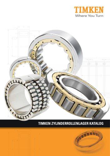 Timken Katalog für Zylinderrollenlager