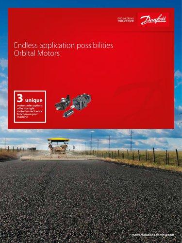 Endless application possibilities  Orbital Motors
