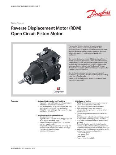 Reverse Displacement Motor (RDM)
