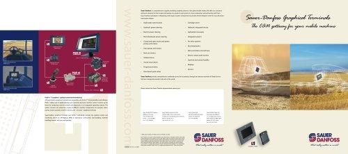 Sauer-Danfoss Graphical Terminals