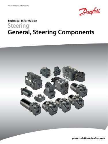 Steering General, Steering Components
