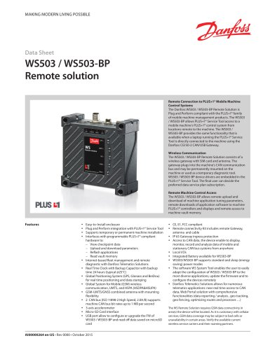 WS503 / WS503-BP