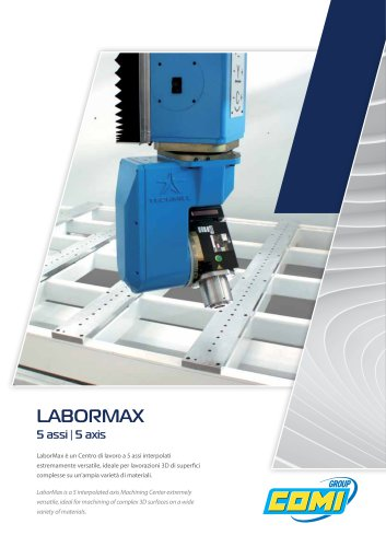 LaborMax 5 axis milling center