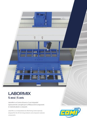 LaborMix 5 axis milling center