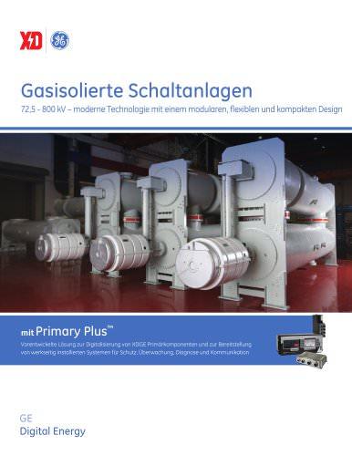 Gasisolierte Schaltanlagen
