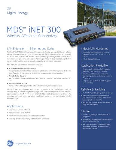 MDS™ iNET 300