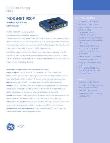 MDS iNET 900®