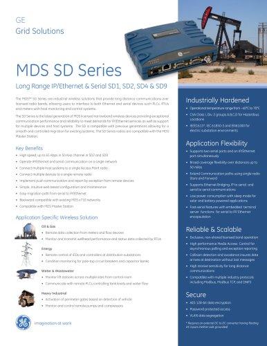 MDS SD Series