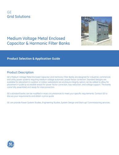 Medium Voltage Metal Enclosed Capacitor & Harmonic Filter Banks