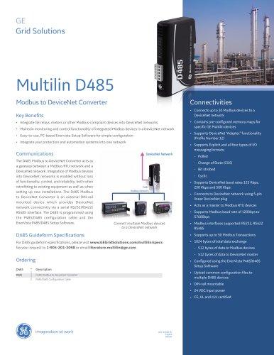 Multilin D485