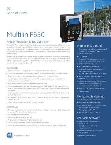 Multilin F650