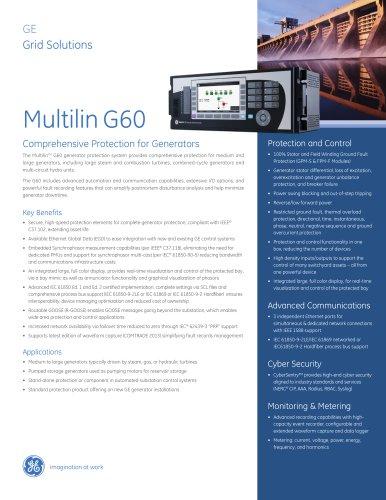 Multilin G60