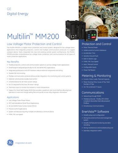 Multilin™ MM200
