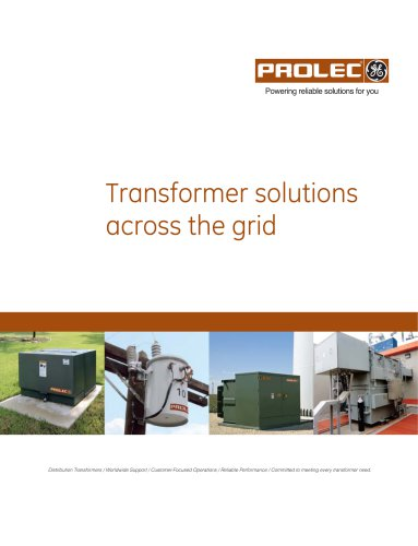 Transformer solutions across the grid