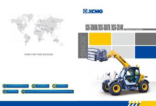 XCMG 3Ton Telescopic Handlers XC6-3006K/XC6-3007K