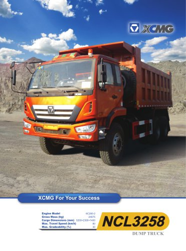 XCMG NCL3258 original dumper dump trucks