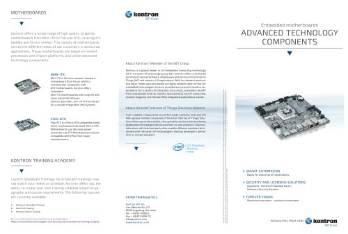 ADVANCED TECHNOLOGY COMPONENTS - MOTHERBOARDS