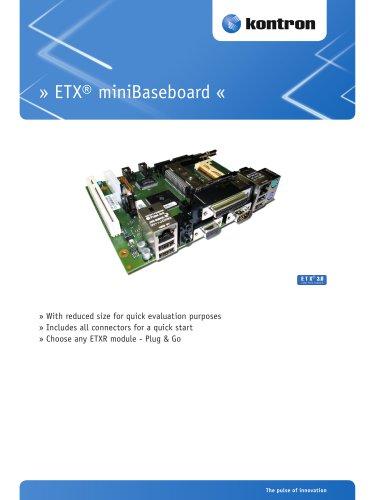 ETX® miniBaseboard