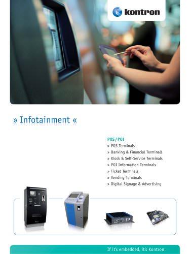 Infotainment - POS/POI Brochure