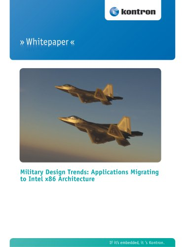 Military Design Trends: Applications Migrating