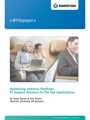Optimizing Airborne Platforms To Support Wireless-In-The-Sky Applications