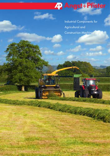 Industrial Components for Agricultural and Construction Machines