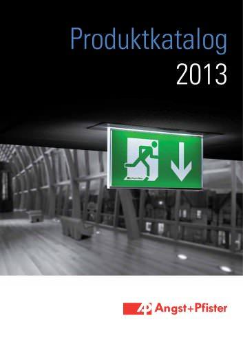 Produktekatalog Sicherheitstechnik 2013