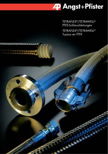 TETRAFLEX® / TETRAWELL® PTFE-Schlauchleitungen