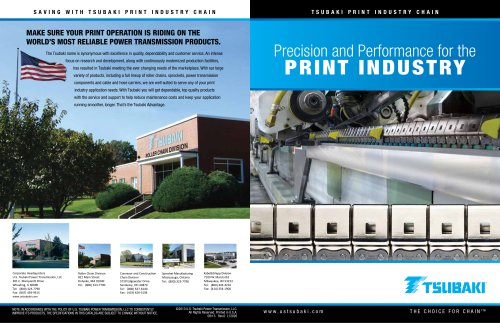 Precision and Performance for the Printing Industry