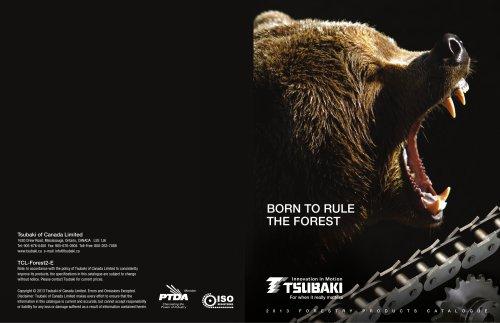 Tsubaki 2013 Forestry Products Catalogue