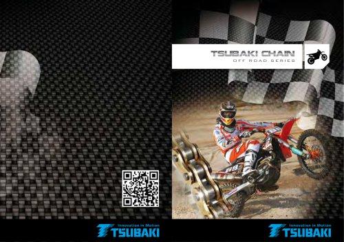 Tsubaki Motorcycle Chain Off Road Series