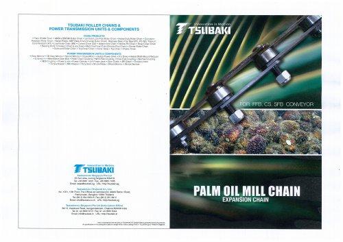 Tsubaki Palm Oil Mill Chain